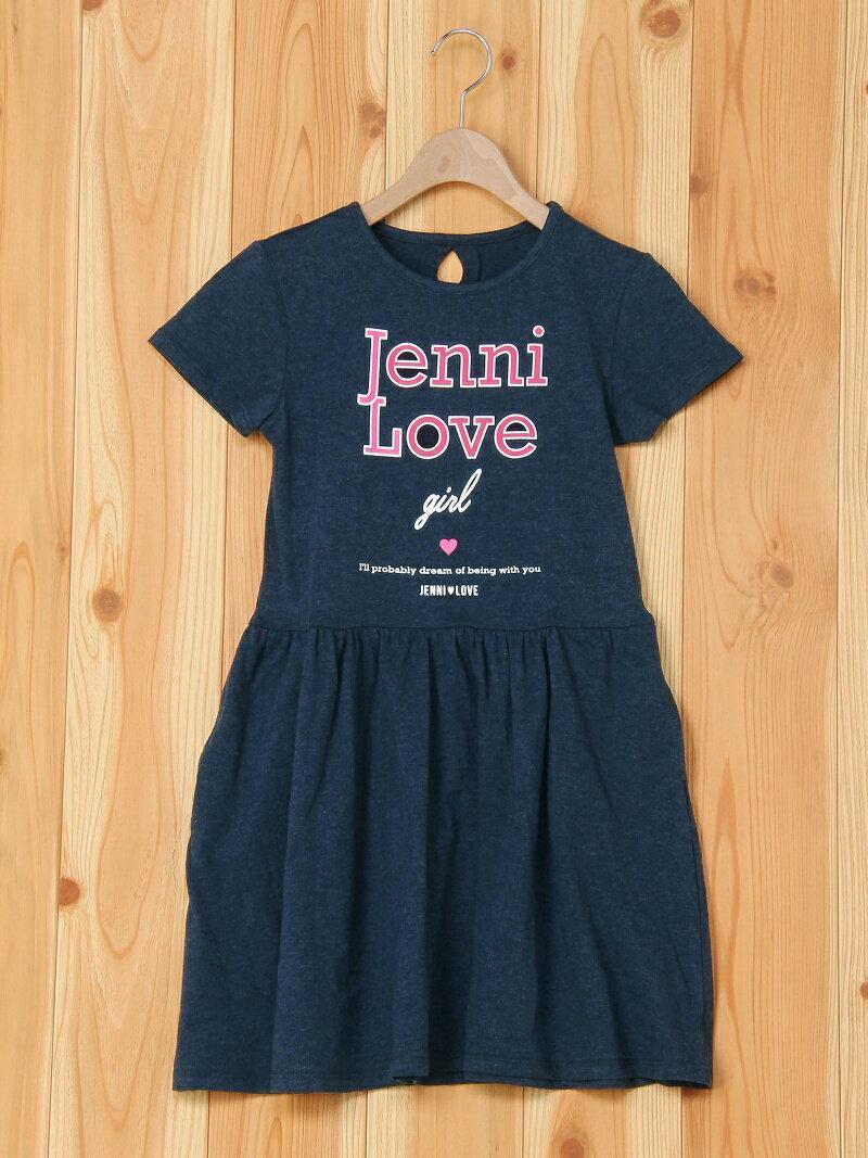 JENNI love ロゴTシャツワンピ ジェニィ ワンピース【送料無料】