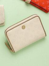ファスナー式折り財布(soeru)/母の日 ギフト