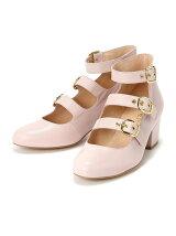DANCE triple strap shoes