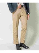 URBAN RESEARCH Tailor ピーチコットンドレスパンツ