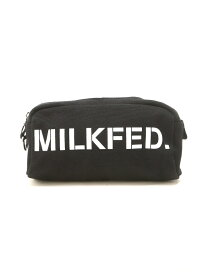 MILKFED. STENCIL CANVAS POUCH ミルクフェド バッグ