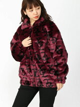 MONOGRAM FUR COACH JACKET