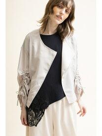 【SALE/50%OFF】OSMOSIS アシンメトリーTシャツ オズモーシス カットソー Tシャツ ブラック ホワイト
