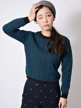 BUCLE CABLE KNIT