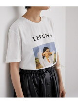 【LEVENS】Organic Cotton Photo Tee