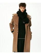ANGORA SHAGGY BIG COAT