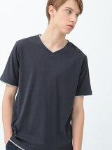 レイヤードTシャツ