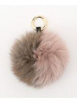 2Tone Fox Fur Pompom チャーム