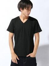 Re Youth/(M)Vネック ポケットTシャツMD15-TS11●