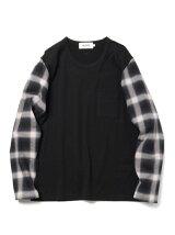 ALOYE / Shirt Fabrics ロングスリーブ Tシャツ 16AW