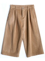 ANGORA SHAGGY WIDE PANTS