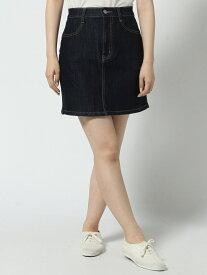 0/(L)インディゴデニムタイトミニスカート ウィゴー スカート