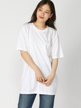 (W)【UNIVERSAL OVERALL】2PAC半袖 クルーTEE
