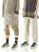 *【U】reversible down pants