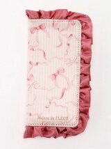 ピンクリボンフリルiPhone7ケース