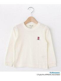 SHOO・LA・RUE/Kids 【ドラえもん】ワッフル刺繍ロンT シューラルー カットソー