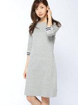 (W)コットンリバーシブルドレス