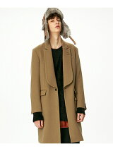 HB MELTON CHESTER COAT