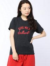 ギミーロゴプリントベーシックTシャツ