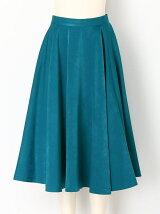 スエードサテンスカート
