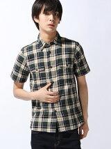 [HOUSTON]チェックワークシャツ