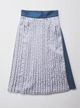 レオパープリントプリーツスカート
