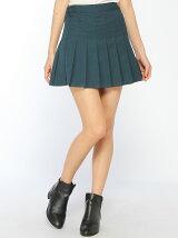 【BROWNY STANDARD】(L)プリーツミニスカート