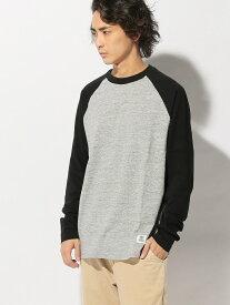 【SALE/70%OFF】FRANKLIN&MARSHALL FRANKLIN&MARSHALL/(M)ラグランスリーブTシャツ ヌーディージーンズ / フランクリンアンドマーシャル カットソー Tシャツ ブラック ネイビー ブラウン