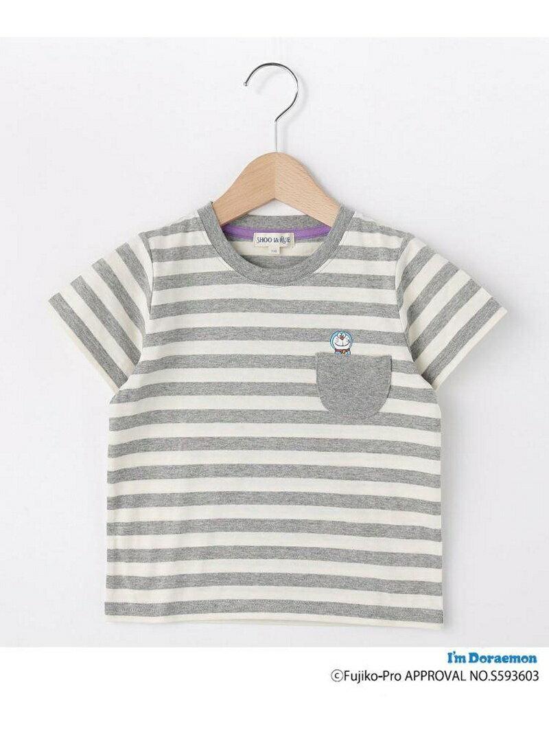 SHOO・LA・RUE/Kids 【ドラえもん】ボーダー半袖Tシャツ シューラルー カットソー