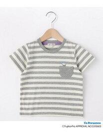 【SALE/20%OFF】SHOO・LA・RUE/Kids 【ドラえもん】ボーダー半袖Tシャツ シューラルー カットソー【RBA_S】【RBA_E】