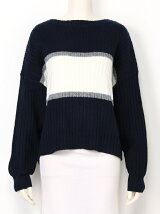 THICK BORDER KNIT