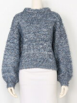 CHANKY SHAGGY MIX KNIT