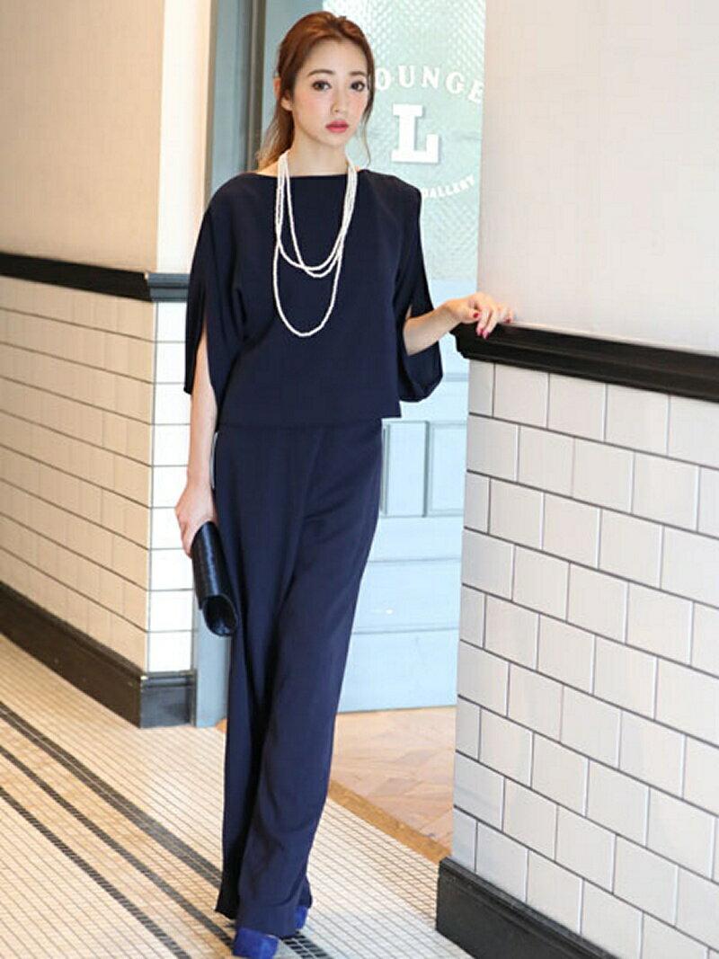 【SALE/25%OFF】Dress Lab Dress Lab/大人上品シンプルセットアップパンツ クリーム ビジネス/フォーマル【RBA_S】【RBA_E】【送料無料】