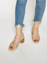 ALMOST NUDE SANDALS