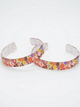 Flower Clear Bangle