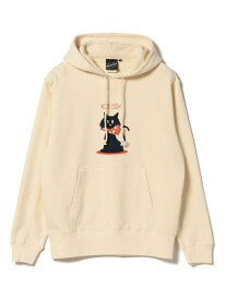 【SALE/40%OFF】BEAMS T 【SPECIAL PRICE】BEAMS T / Shadow Graphic Sweat Parka ビームスT カットソー パーカー ベージュ グレー