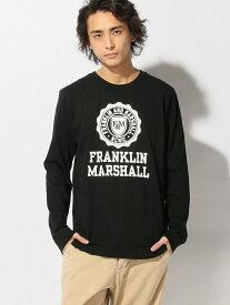 【SALE/70%OFF】FRANKLIN&MARSHALL FRANKLIN&MARSHALL/(M)プリントTシャツ ヌーディージーンズ / フランクリンアンドマーシャル カットソー Tシャツ ブラック ネイビー ホワイト