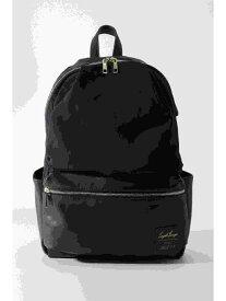 ikka レガートラルゴ ナイロン風×合皮10ポケットリュック イッカ バッグ バッグその他 ネイビー グレー ブラック ベージュ【送料無料】