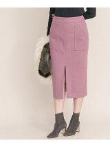 フロントスリットポケットタイトスカート