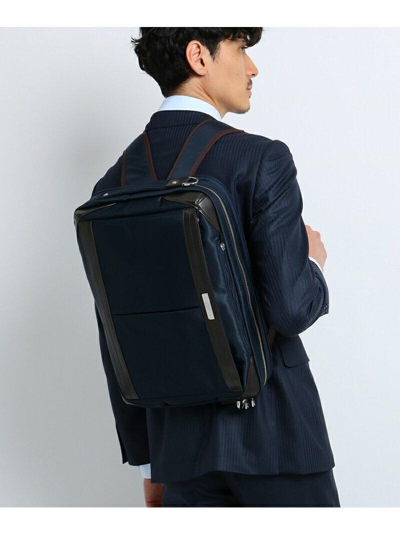 TAKEO KIKUCHI 3WAYビジネスブリーフバッグ【リュック ショルダー 撥水】 タケオキクチ バッグ【送料無料】