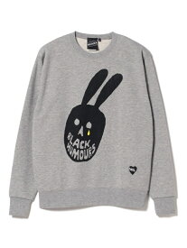 【SALE/40%OFF】BEAMS T 【SPECIAL PRICE】BEAMS T / Skull Mouse Crew ビームスT カットソー スウェット グレー ブラック