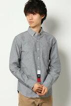 オックストリコ切替ボタンダウンシャツ