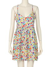 WILD FLOWER PATCH DRESS