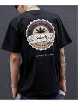 "Subciety/(M)""CHOCOLATE"" S/S"