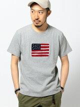 ビーミング by ビームス / サガラ刺繍 クルー Tシャツ BEAMS