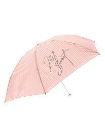 JILLSTUART JILL STUART/(W)ワンポイントロゴ軽量カーボン折りたたみ傘 オーロラ アクセント ファッショングッズ 日傘/折りたたみ傘 パープル ネイビー ピンク【送料無料】