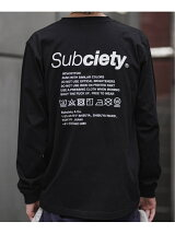Subciety/(M)LABEL L/S
