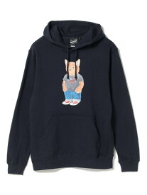 【SALE/40%OFF】BEAMS T 【SPECIAL PRICE】BEAMS T / Cat Sweat ビームスT カットソー パーカー ネイビー ブラック