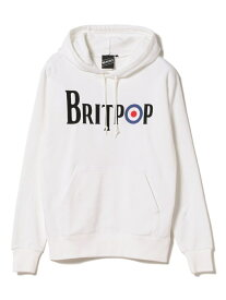 【SALE/40%OFF】BEAMS T 【SPECIAL PRICE】BEAMS T / BRITPOP Sweat Parka ビームスT カットソー パーカー ホワイト ブラック