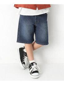 【SALE/10%OFF】devirock デニムハーフパンツ 男の子 女の子 ズボン 全3色 デビロック パンツ/ジーンズ【RBA_S】【RBA_E】
